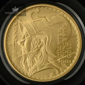 2003 Great Britain 1/4 oz Gold Britannia Proof
