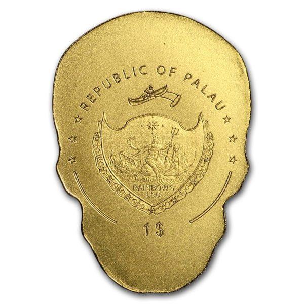 Palau 1/2 gram Gull $1