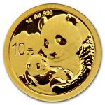 2019 Kina 1 Gram Gull Panda BU