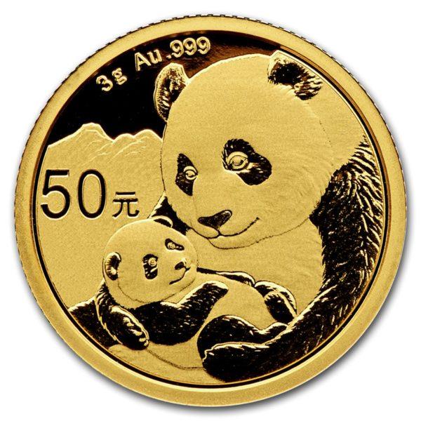 2019 Kina 3 Gram Gull Panda BU