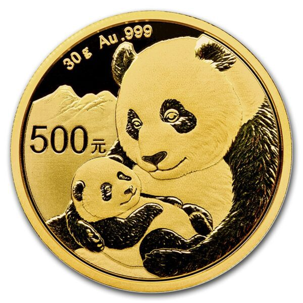 2019 Kina 30 Gram Gull Panda BU