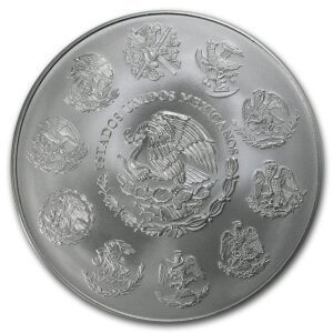 2012 Mexico 1 Kilo Silver Libertad BU M/Kapsel