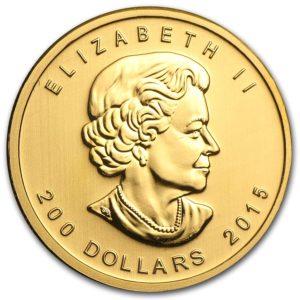 """2015 Kanada 1 oz Gull .99999 """"Growling Cougar"""" BU"""