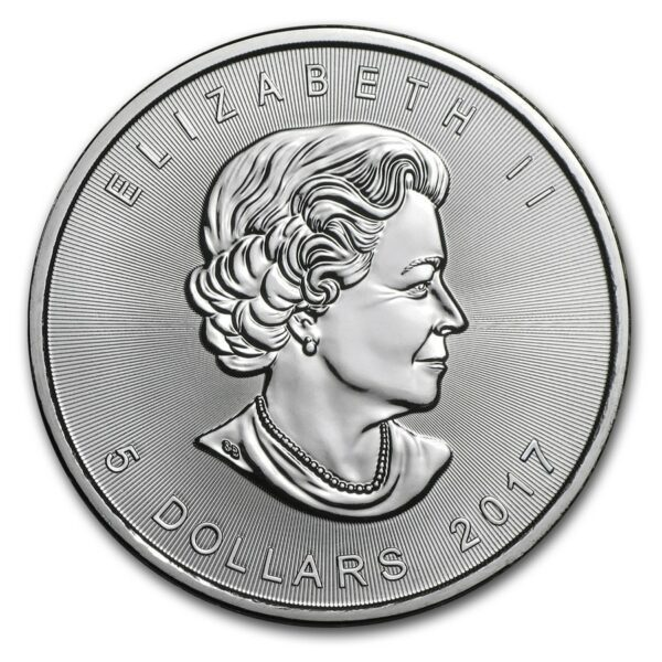 2017 Kanada 1 oz Sølv Maple Leaf BU ANMERKNING!