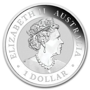 "2019 Australia 1 oz Sølv Kookaburra BU ""Pig Privy"""