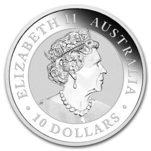 2019 Australia 10 oz Sølv Kookaburra BU
