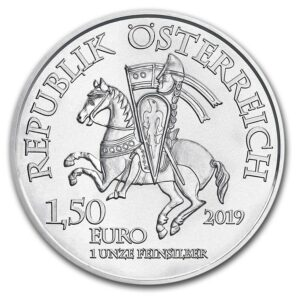 2019 Østerrike 1 oz Sølv 825th Anniversary of the Austrian Mint BU
