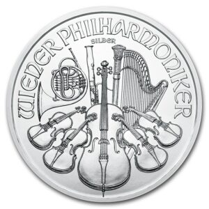 2019 Østerrike 1 oz Sølv Philharmoniker BU