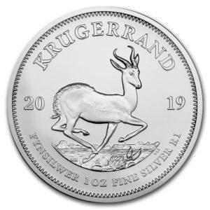 """2019 Sør-Afrika 1 oz Sølvmynt """"Krugerrand"""" BU"""