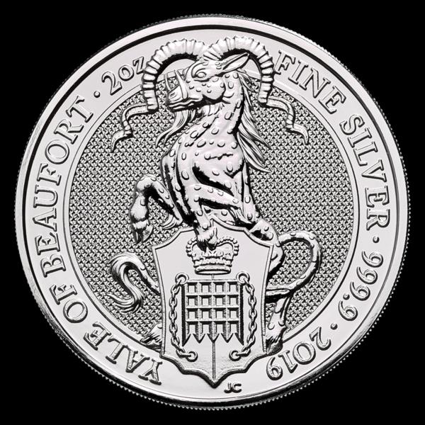 2019 Storbritannia 2 oz Sølv