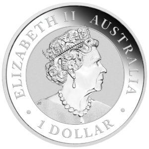 2019 Australia 1 oz Sølv Wedge-Tailed Eagle BU