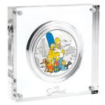 2019 Tuvalu 2 oz Sølv Simpsons
