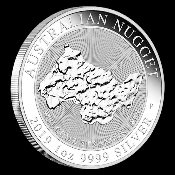 2019 Australia 1 oz Sølv