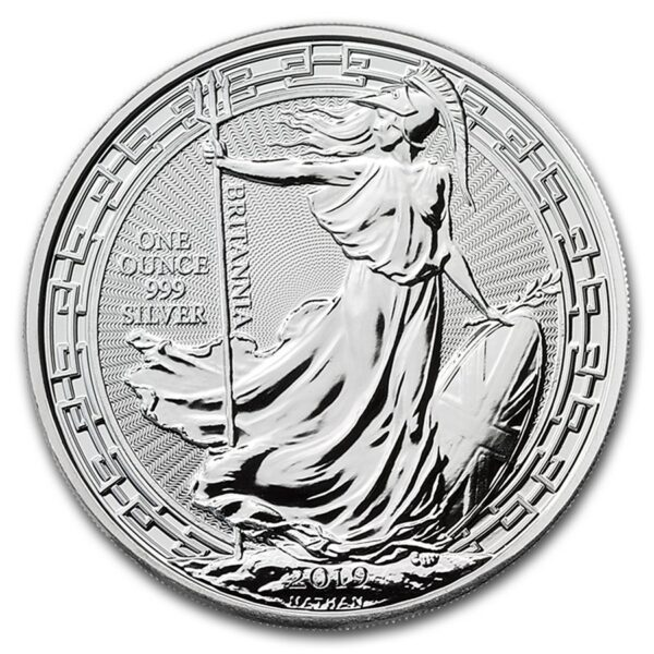 2019 Storbritannia 1 oz Sølv Britannia