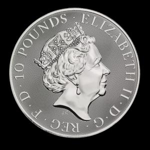 "2019 Storbritannia 10 oz Sølv ""Valiant"" BU"