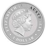 2018 Australia 1 oz Sølv Kangaroo BU