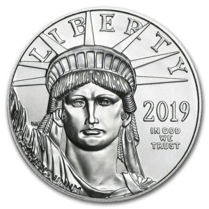 "2019 USA 1 oz Platinum ""American Eagle"" BU"