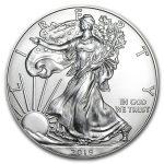 2019 Silver American Eagle 1 oz Sølv PCGS MS70