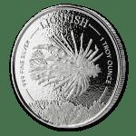 2019 Barbados 1 oz Sølvmynt
