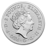 2019 Storbritannia 1 oz Sølv