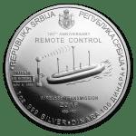 2019 Serbia 1 oz Sølv