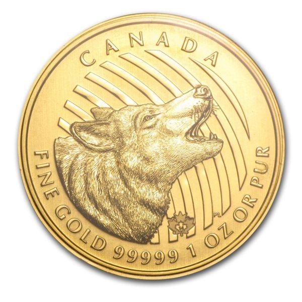 2014 Kanada 1 oz Gull .99999 «Howling Wolf» BU