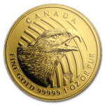 2018 Kanada 1 oz Gull .99999 «Eagle» BU