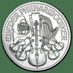 2011 Østerrike 1 oz Sølv Philharmoniker BU