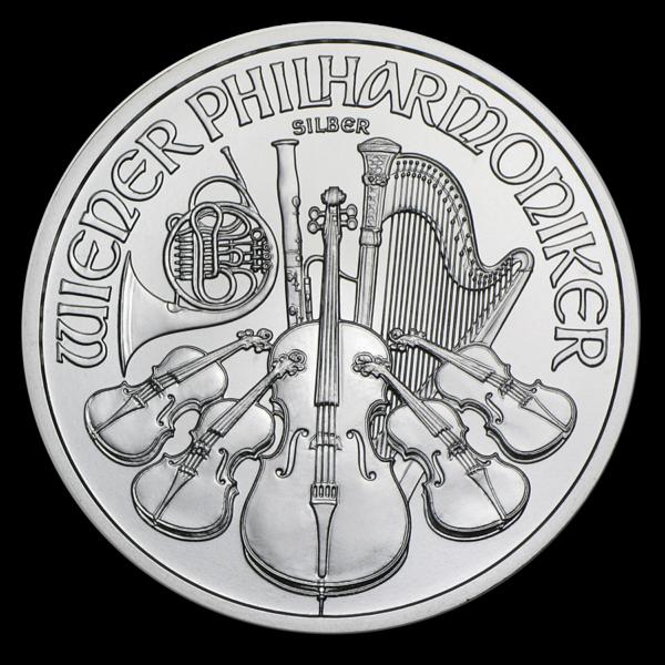 2012 Østerrike 1 oz Sølv Philharmoniker BU