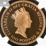 1989 Storbritannia 1 oz Gull Britannia Proof NGC PF70