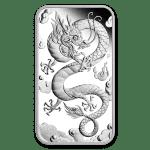 2019 Australia 1 oz Silver Dragon Proof