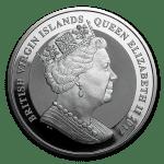 2017 British Virgin Islands 1 oz Silver Pegasus Reverse Proof adv