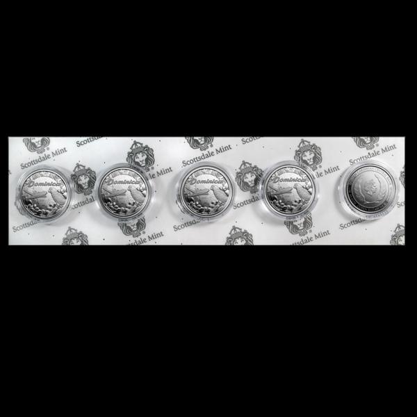 2019 Dominica 1 oz Silver Sisserou Parrot BU pack