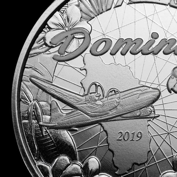 2019 Dominica 1 oz Sølvmynt «Sisserou Parrot» EC8 BU