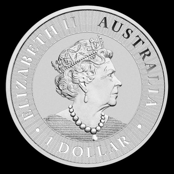 2020 Australia 1 oz Sølv Kangaroo BU