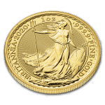 2020 Storbritannia 20 x 1 oz Gull Britannia BU i Tube «Bestillingsvare»
