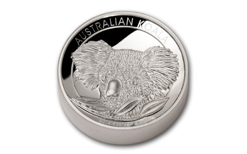 2014 Australia 5 oz Sølv Koala High Relief Proof NGC PF70 UC M/Etui