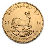 2014 Sør-Afrika 1 oz Gull Krugerrand BU (Usirkulert)