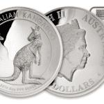 2016 Australia 5 oz Sølv Kangaroo High Relief Proof NGC PF70 UC First Day of Issue m/Kangaroo label