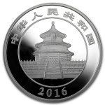2016 Kina 150 Gram Sølv Panda Proof NGC PF69UCAM