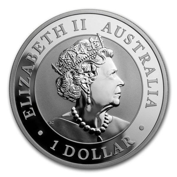 2020 Australia 1 oz Sølv Koala BU M/Kapsel
