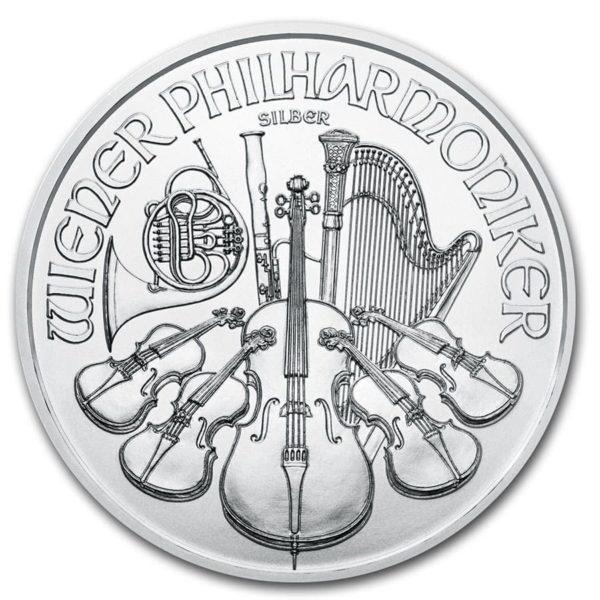 2020 Østerrike 1 oz Sølv Philharmoniker BU