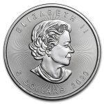 2020 Kanada 1 oz Sølv Maple Leaf BU