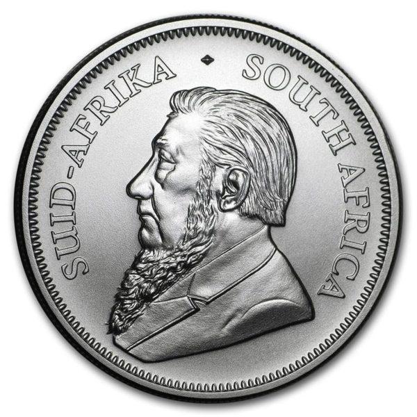 2020 Sør-Afrika 1 oz Sølvmynt «Krugerrand» BU