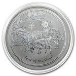 2015 Australia 1 oz Silver Lunar Goat BU (Series II) kapsel