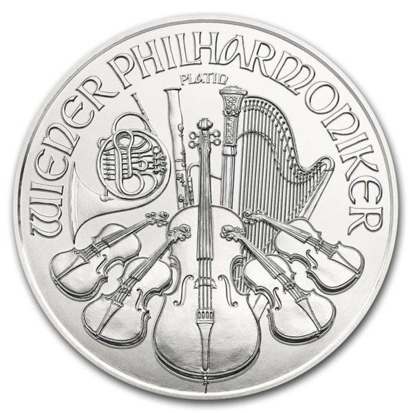 2020 Østerrike 1 oz Platinum Philharmoniker BU
