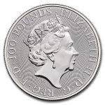 2020 Great Britain 1 oz Platinum The Royal Arms BU adv