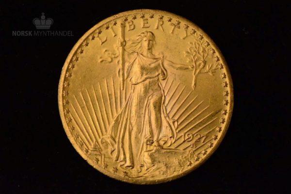 1927 USA 20$ 0.9675 oz Gull Saint-Gaudens Double Eagle AU