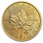 2020 Kanada 1 oz Gull Maple Leaf BU