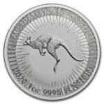 2020 Australia 1 oz Platinum Kangaroo BU M/Kapsel
